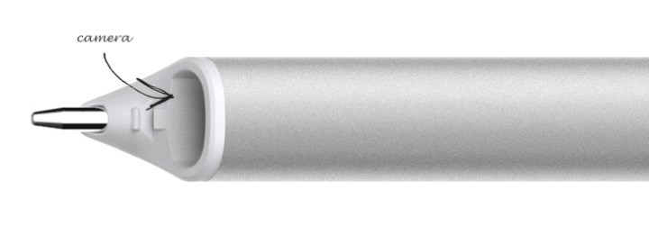 neo smartpen n2 tip and camera