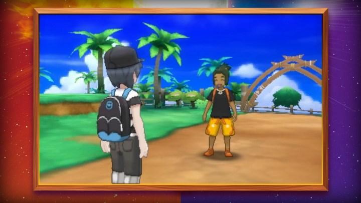 Pokémon Sun and Pokémon Moon Have Third-Person Cameras