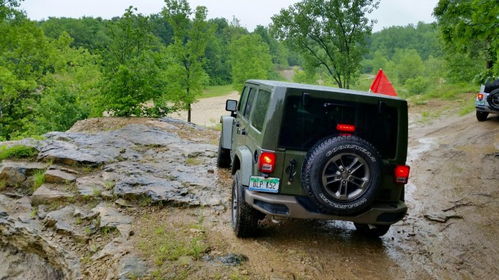 The 2016 Jeep Wrangler Unlimited we reviewed is capable on the road and off.