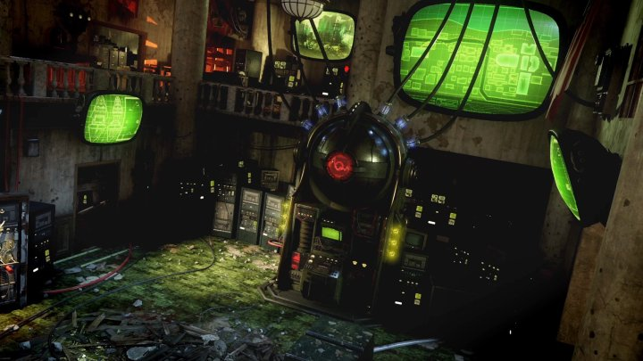 The first look at the Black Ops 3 DLC 3 Zombies map.
