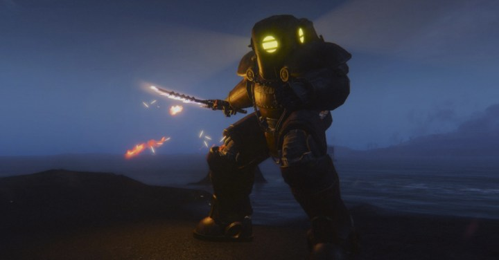 Submersible Power Armor