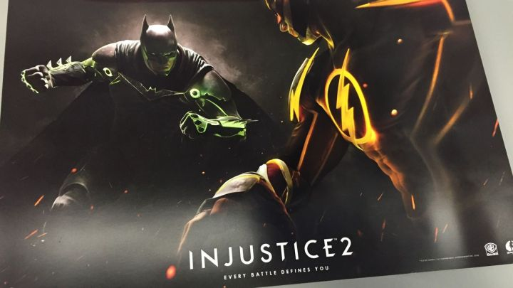 The Injustice 2 poster sent to Polygon.com