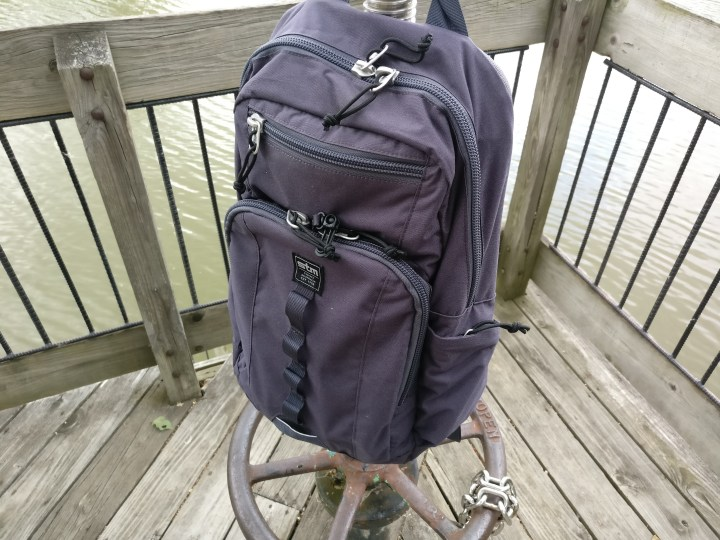 The STM Trestle is a compact and comfortable backpack with lots of organizational options.