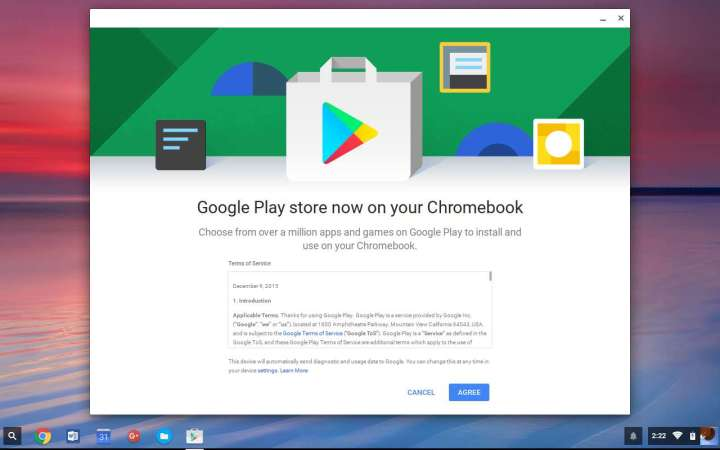 google play store agreement