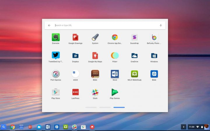 chromebook launcher android apps