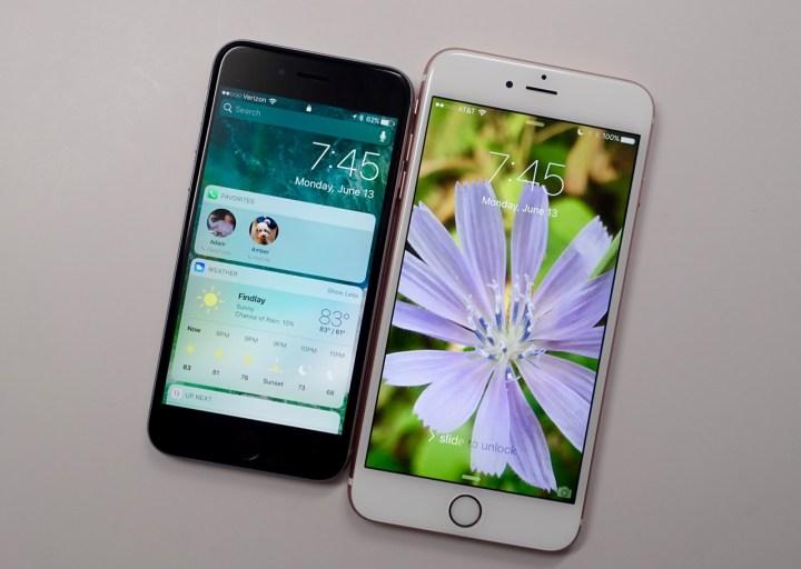 iOS 10 Lock Screen & Raise to Wake