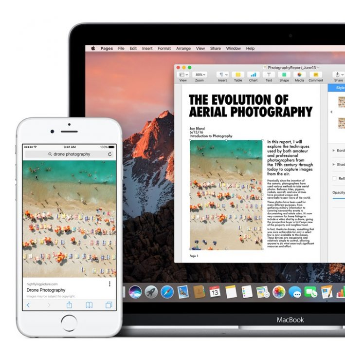 Copy on iPhone, Paste on Mac