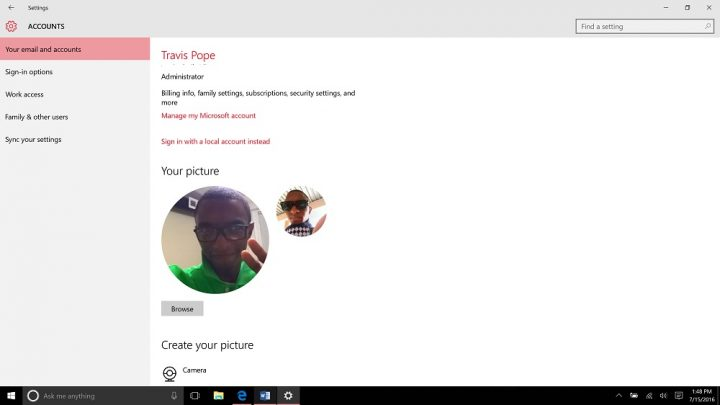 How to Add an Account to Windows 10 (3)