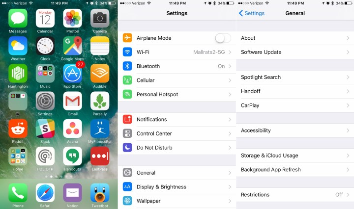 How to Check for the iOS 10.3.2 update.