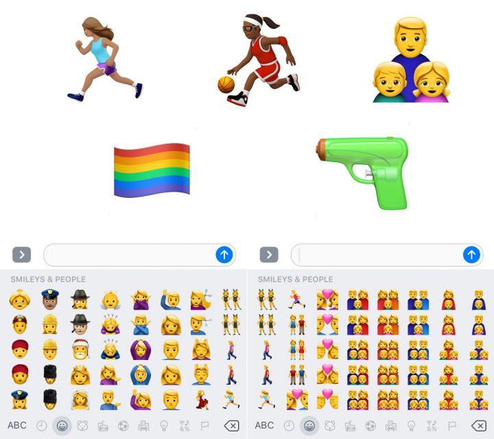 New iOS 10 Emojis