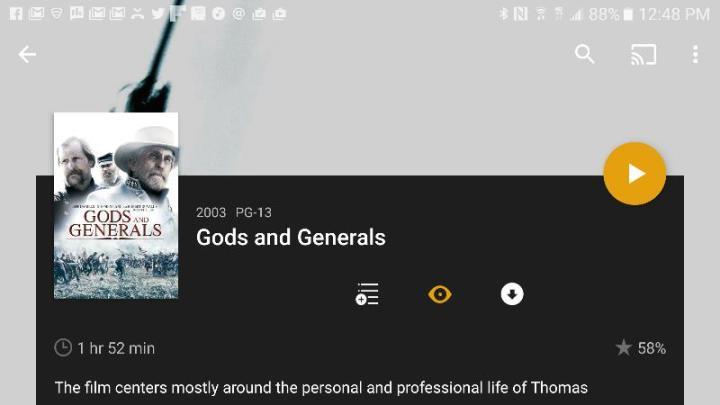 android plex app