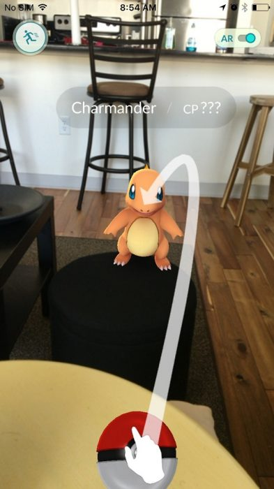 pokemon go catch