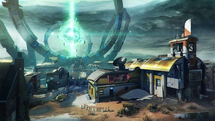 Rupture Black Ops 3 DLC 4 Map - Outskirts Remake