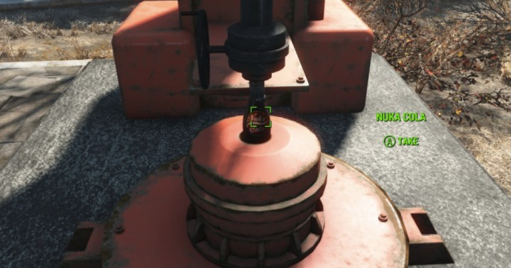Nuka Cola Filling Machine