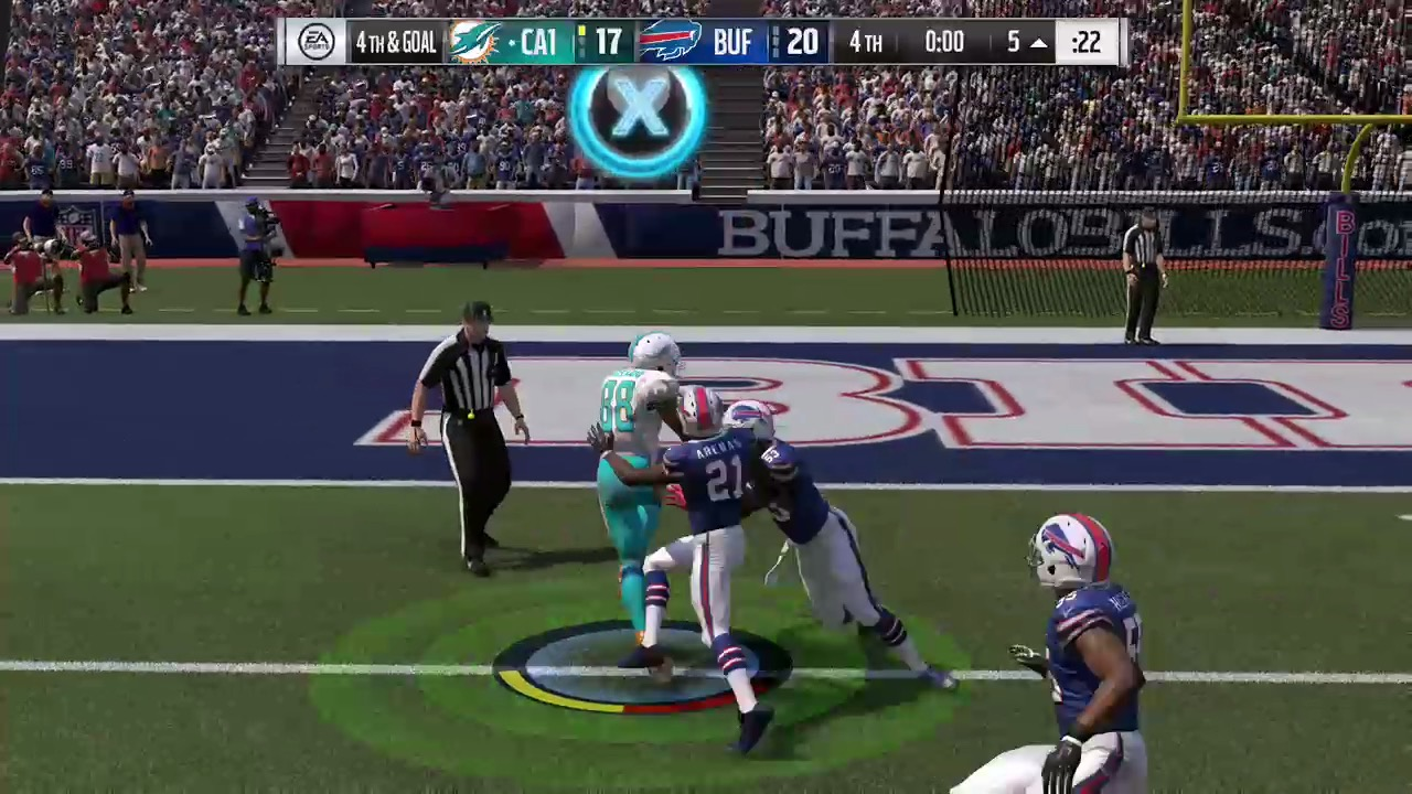 A Giant Of The Gridiron - Madden NFL 16 - PlayStation 4 - www ...