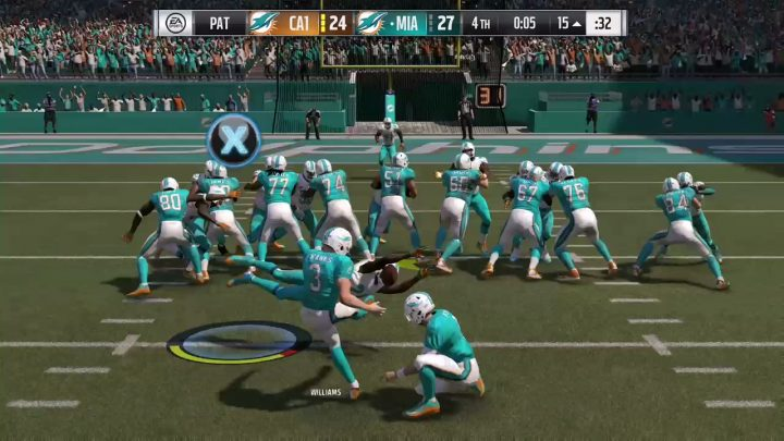 Special teams are exciting in Madden 17.