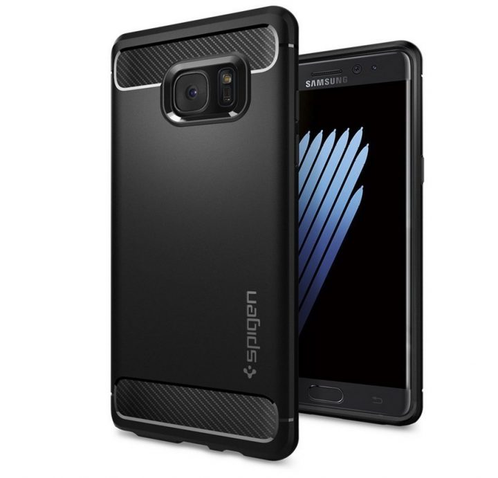 Spigen Rugged Armor Note 7 Case