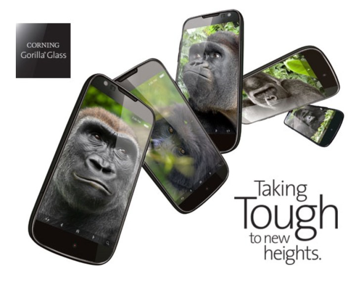 Strong Gorilla Glass 5 Display