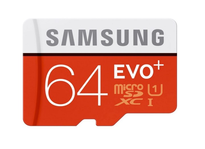 Samsung 64GB EVO+ Class 10