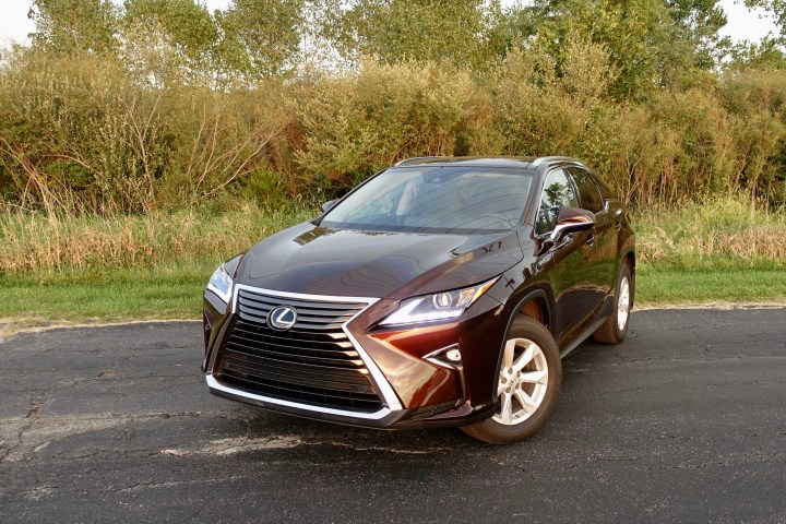 The 2016 Lexus RX 350 is a beautiful SUV.