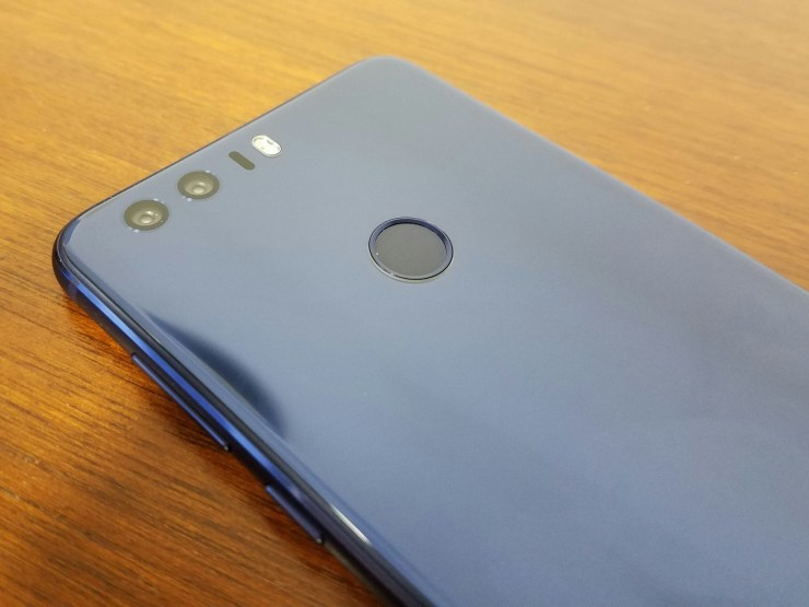 hawei honor 8 camera and back button