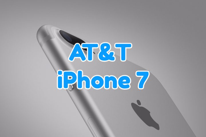 AT&T iPhone 7 Plans