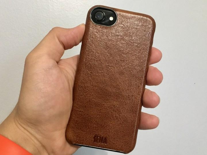 Sena Ultrathin Snap-On Leather iPhone 7 Case
