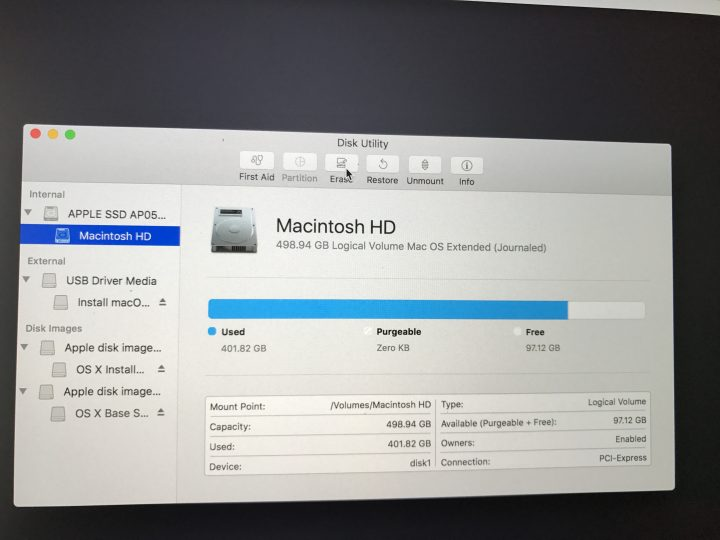 How to wipe your Mac for a clean macOS Sierra install.