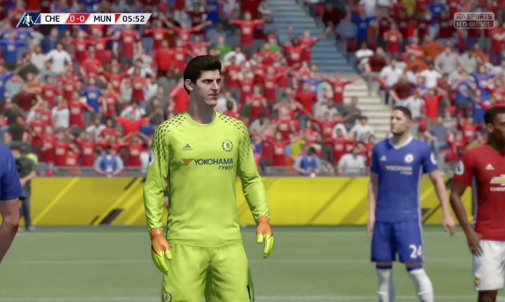 There are definitely some FIFA 17 problems.