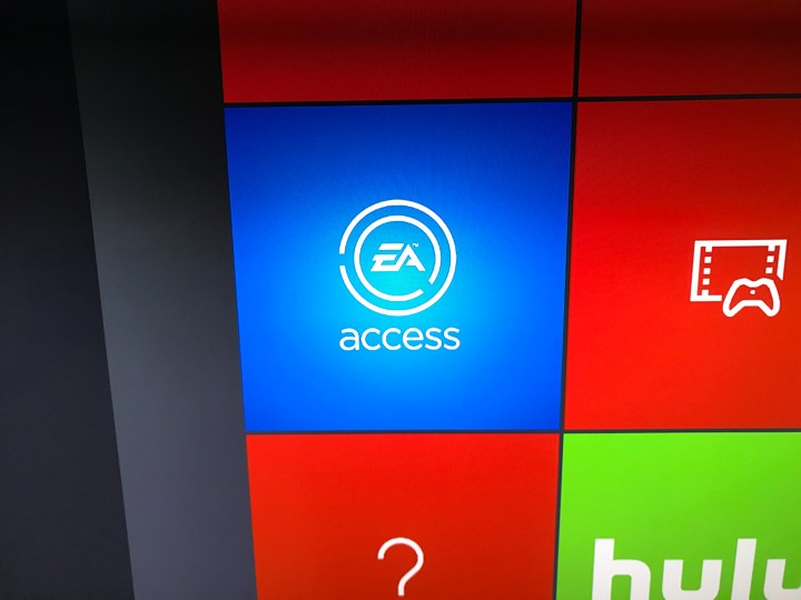 Open the EA Access app to find the FIFA 17 trial.