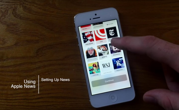 How to Use Apple News on iOS 10 - 3