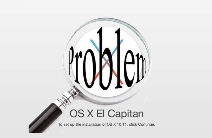Install if You Have OS X El Capitan Problems & macOS Sierra Problems
