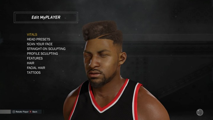 NBA 2K17 My Player Face Scanning (25)