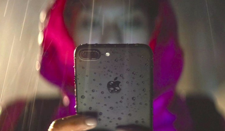 The iPhone 7 is IP67 dust and water-resistant, not waterproof.