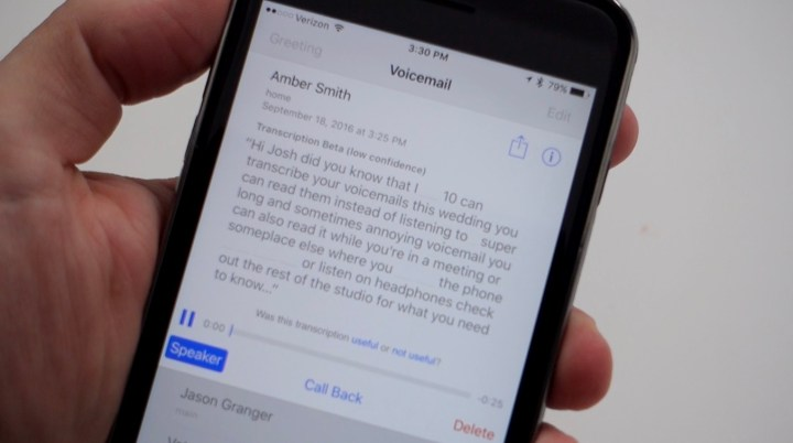 How to Read Your Voicemails in iOS 10