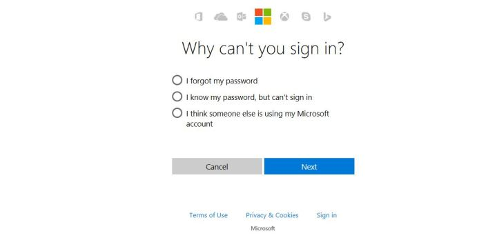 windows 10 locked out microsoft account