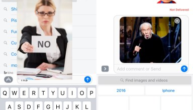 Seven words you can never send with iMessage gifs.