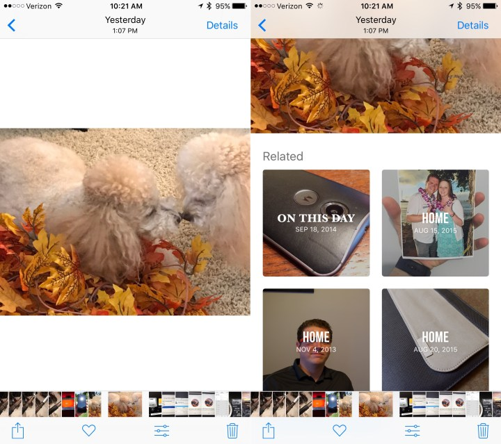 Find Related iPhone Photos Fast.