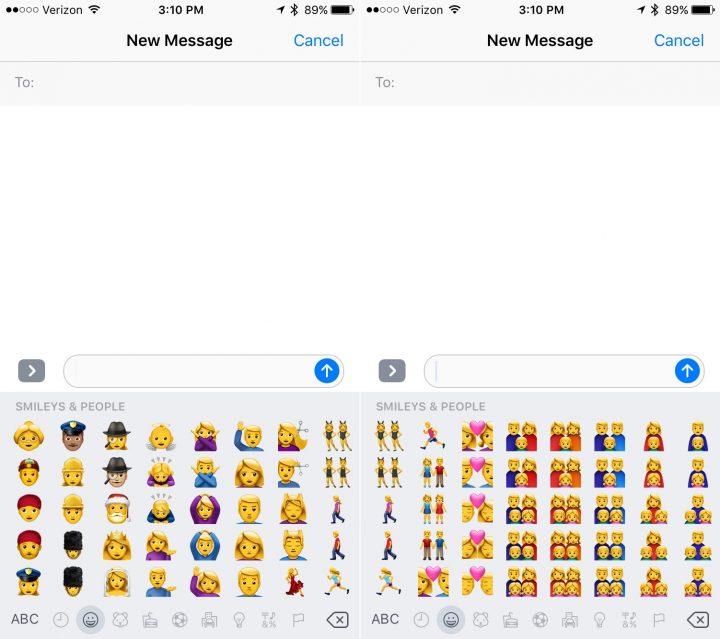 iOS 10 Emoji Ripoffs