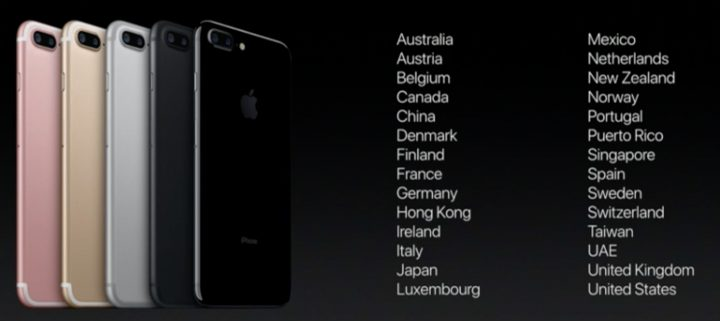 Release date for iphone 7 in Australia