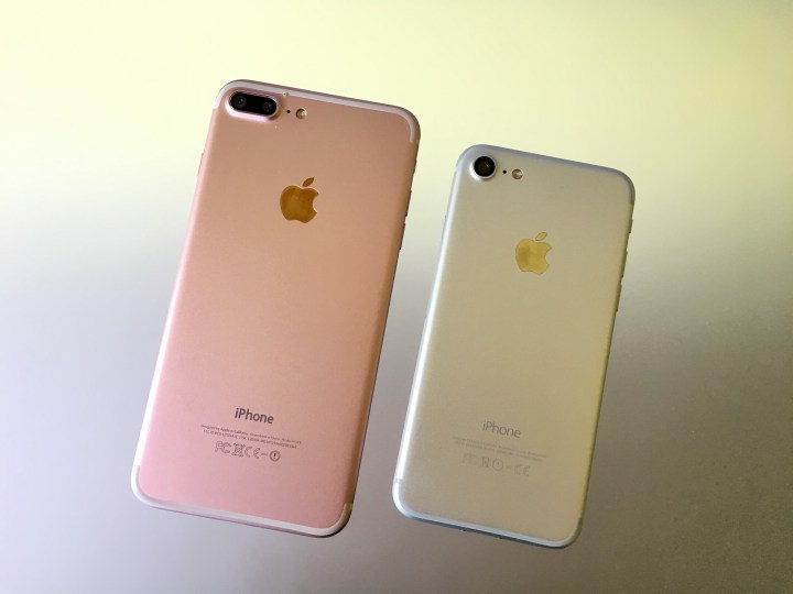 Compare the IPhone 7 and iPhone 7 Plus size before you buy.