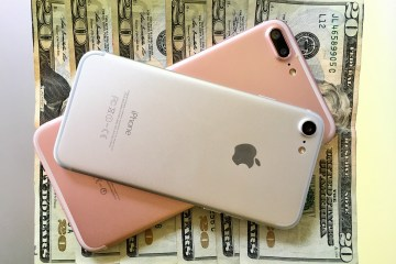 The iPhone 7 Plus is $120 more expensive than the iPhone 7.
