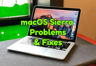 How to fix common macOS Sierra problems and fixes.