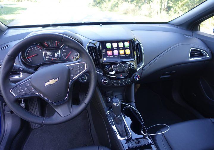 The Chevy Cruze Premier Interior Is Beautiful.