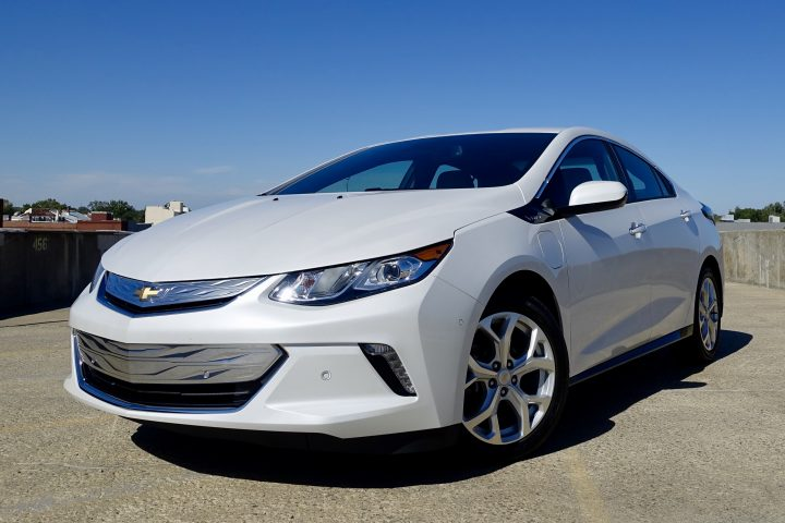 The Chevy Volt is fun to drive with quick electric vehicle acceleration and a smooth ride.