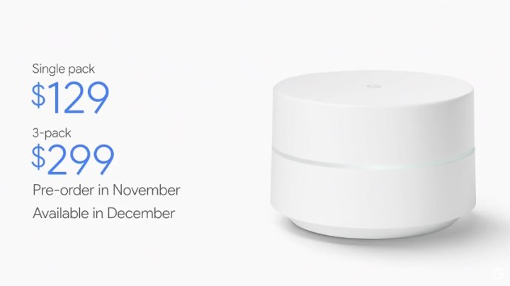 This is Google WiFi.