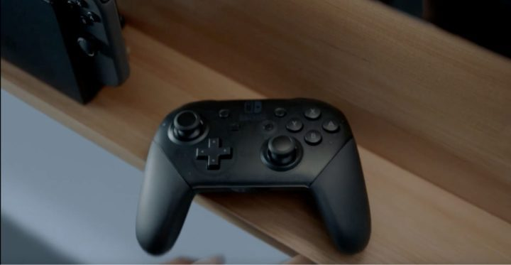 The Nintendo Switch Pro Controller