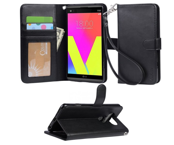 Arae Wallet and Kickstand Flip Case