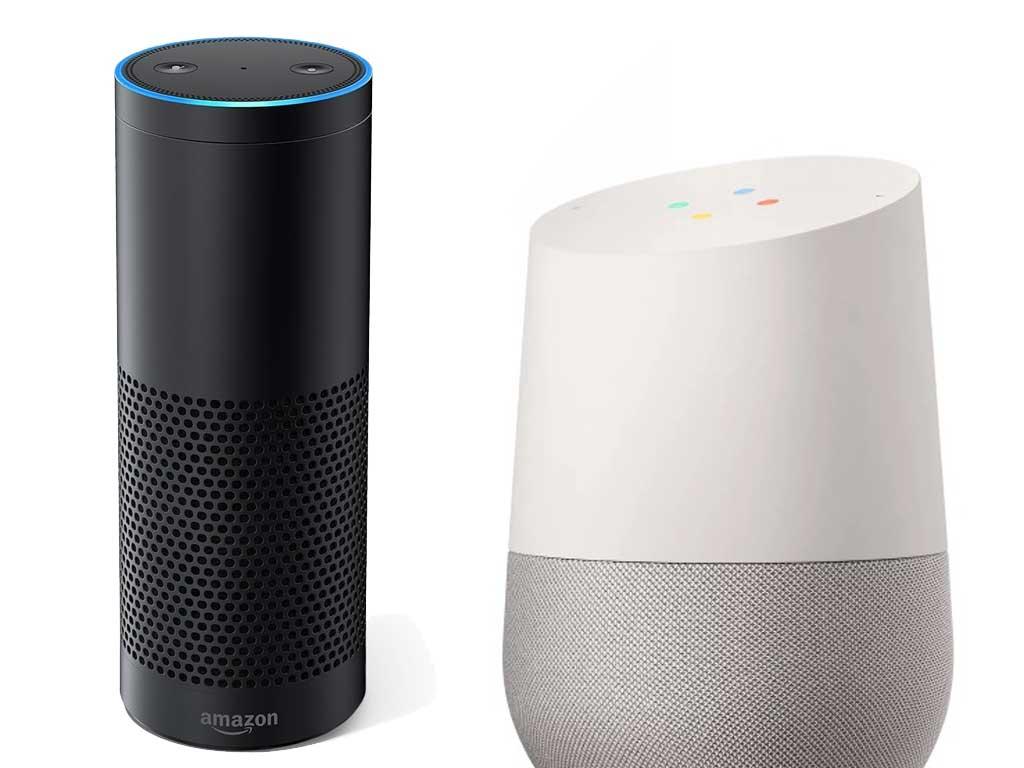 Compare Google Home Alexa And Echo