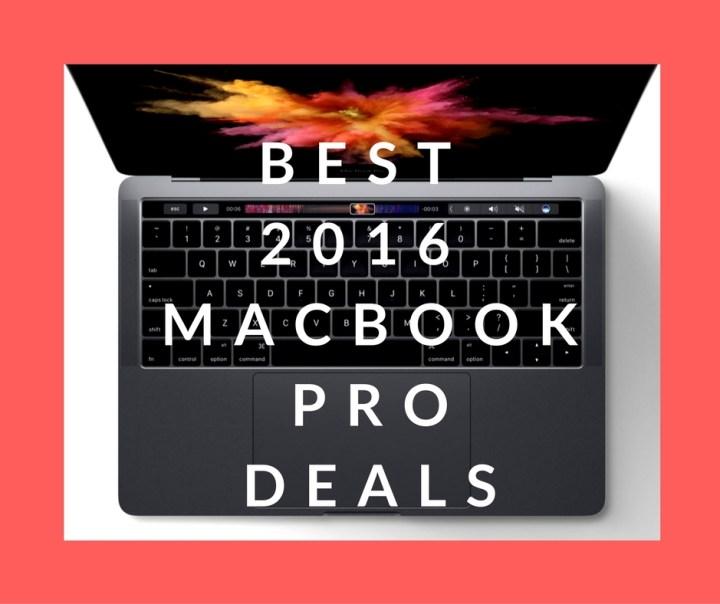 best 2016 MacBook Pro Deals